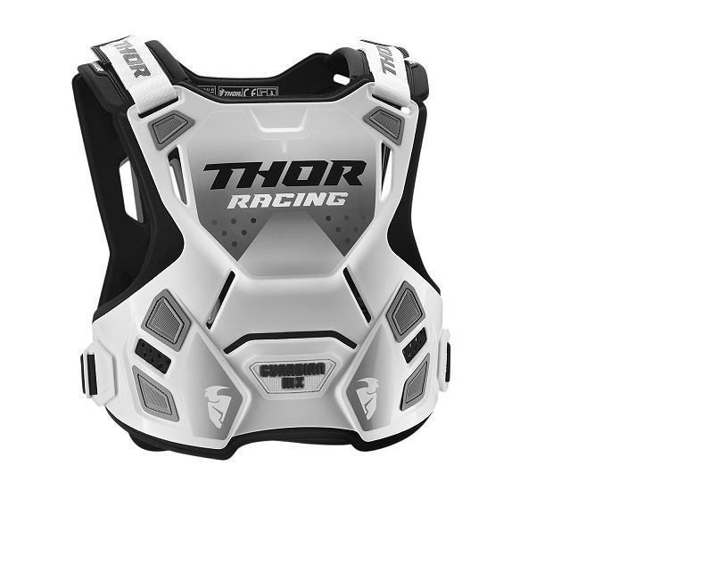 THOR GUARDIAN MX ROOST DEFLECTOR WHITE
